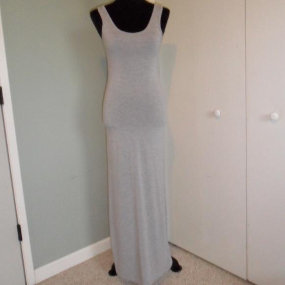 Dresses & Skirts - Long Grey Maxi Dress